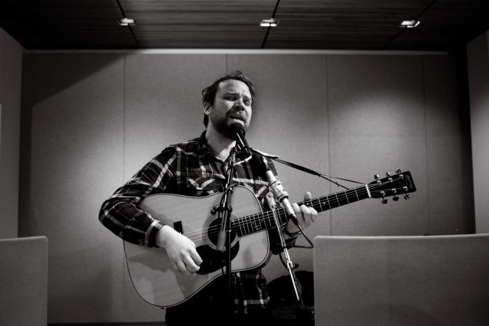 Frightened Rabbit singer and lyricist Scott Hutchison.