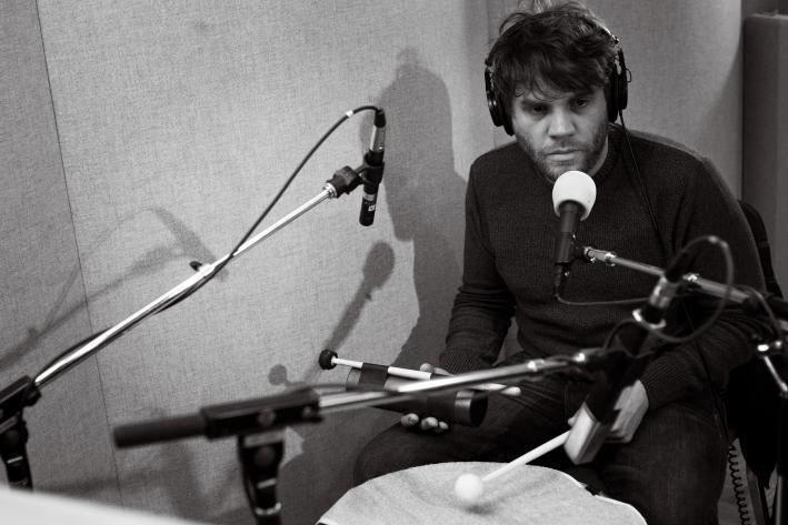Frightened Rabbit drummer Grant Hutchison.