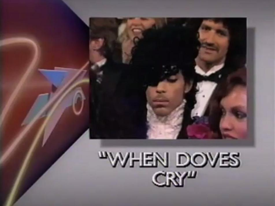 Prince waiting to hear if he won an Oscar Today in Music History.