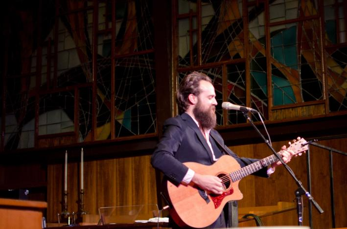 Sam Beam, a.k.a. Iron & Wine, performs at South by Southwest.