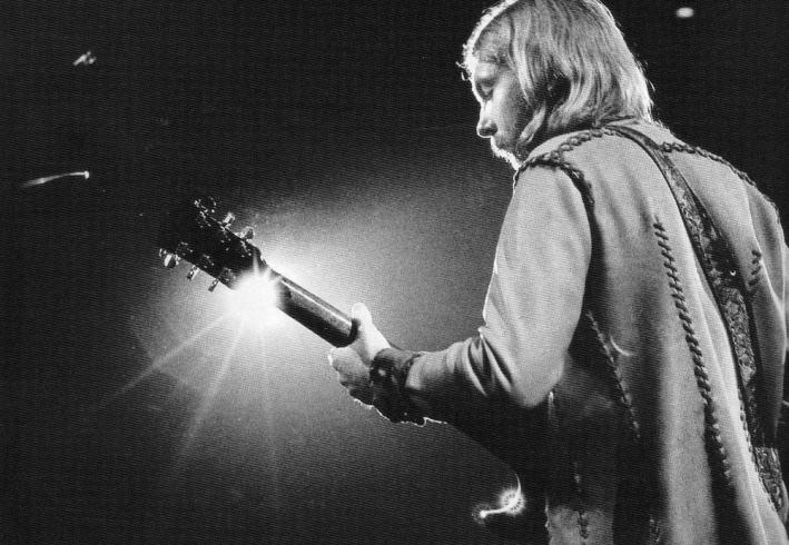 Legendary and short-lived guitarist Duane Allman.