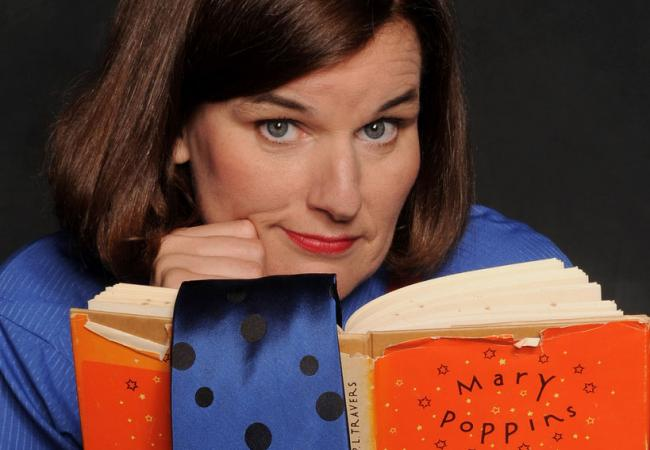 Comedian, Wits guest and dial thief Paula Poundstone.