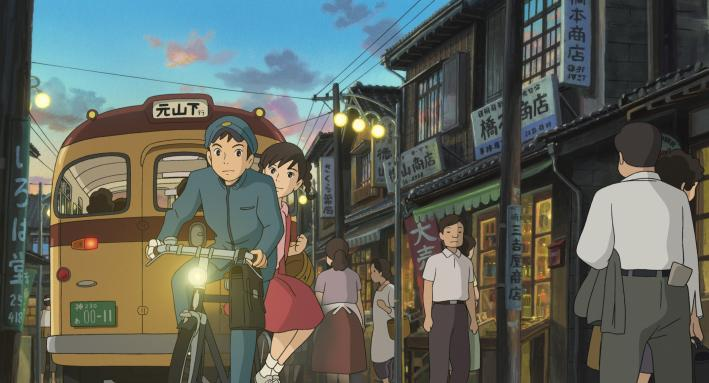 "Still from Goro Miyazaki's ""From Up on Poppy Hill""."