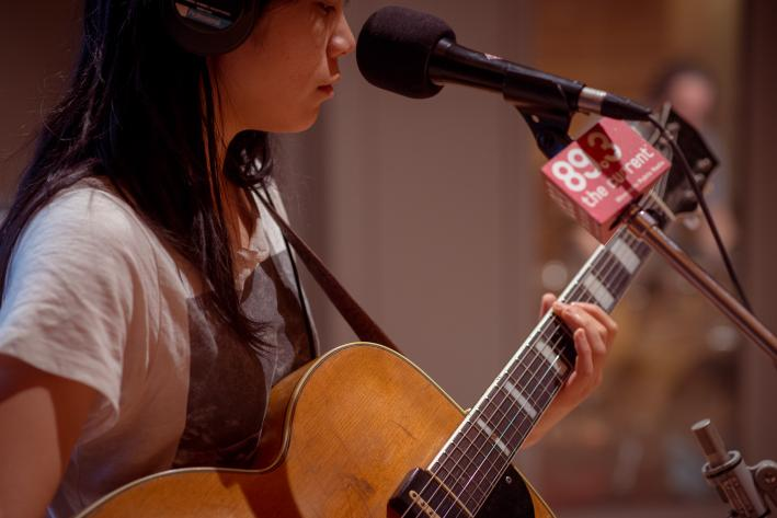 Thao Nguyen of Thao & the Get Down Stay Down.