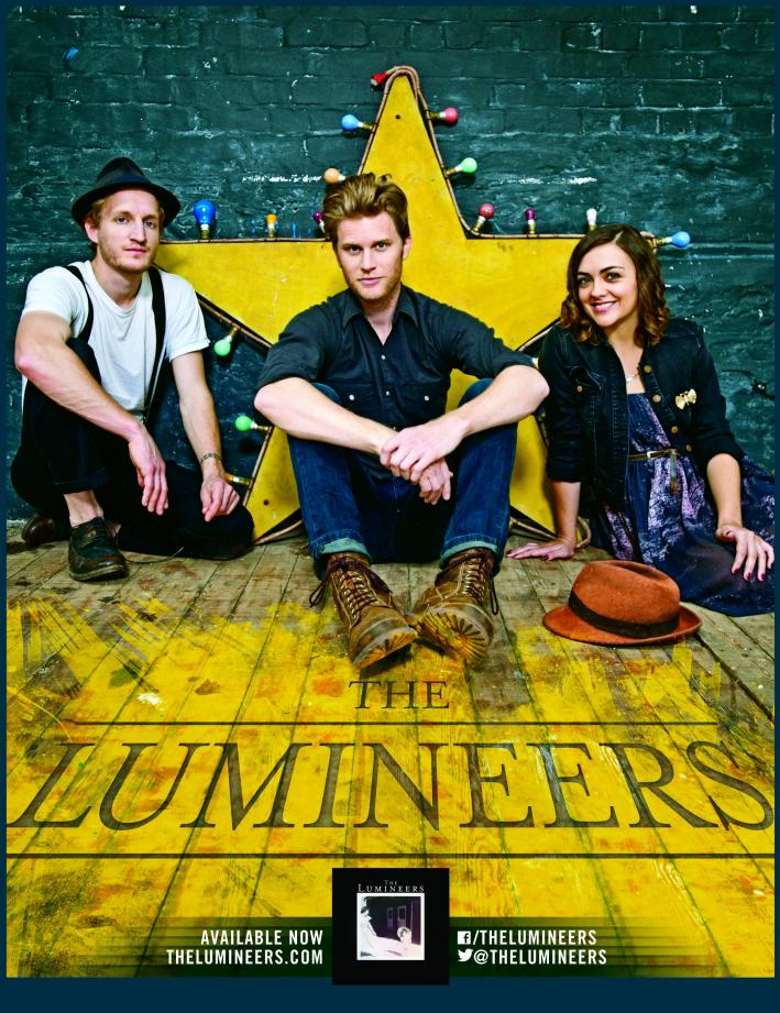 The Lumineers at the Target Center promotional e-card
