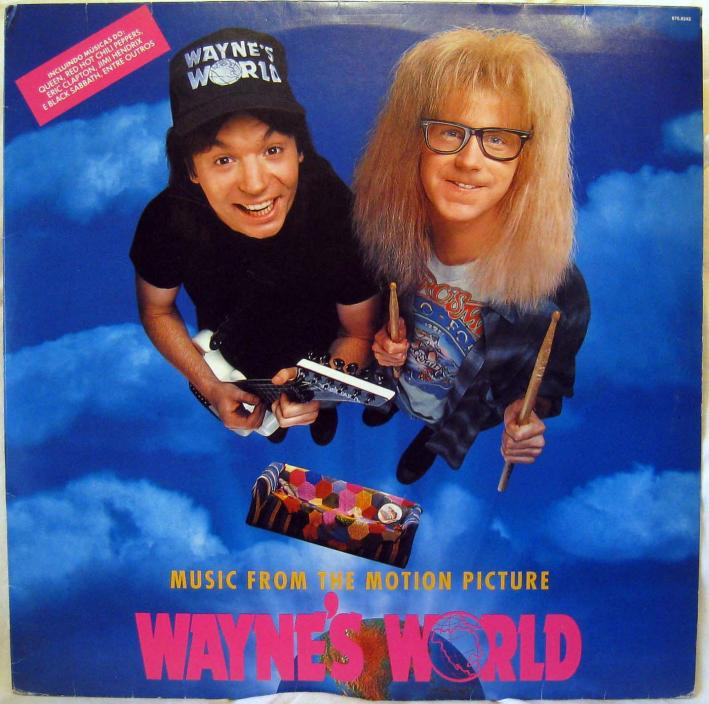 Wayne's World premiered Today in Music History.