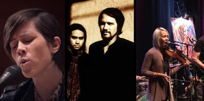 Tegan and Sara, Silversun Pickups and Cloud Cult.