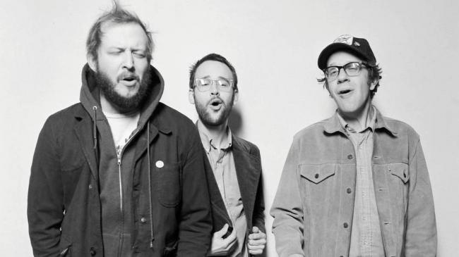 The Shouting Matches, featuring Justin Vernon, will release their debut album, Grownass Man, April 16 2013.