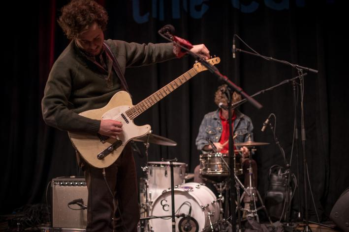 Brothers Taylor and Griffin Goldsmith of Dawes in the UBS Forum.