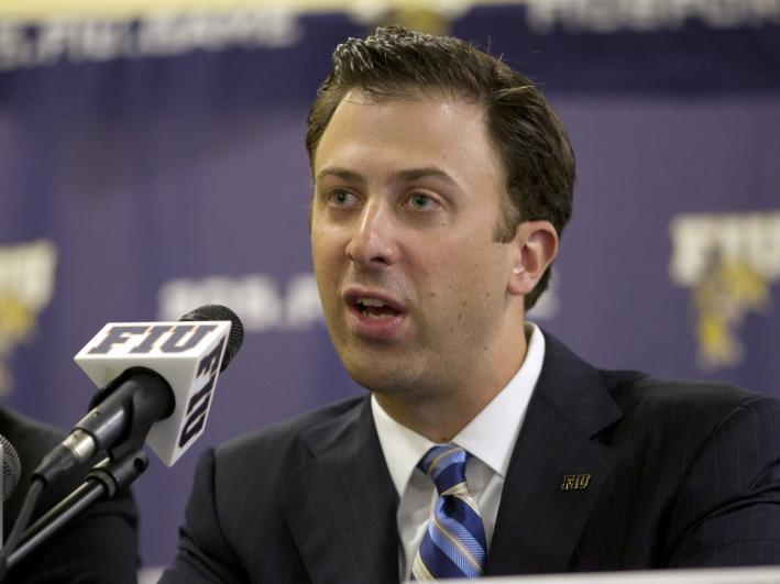 The Gophers men's basketball team finally has a new coach, Richard Pitino.