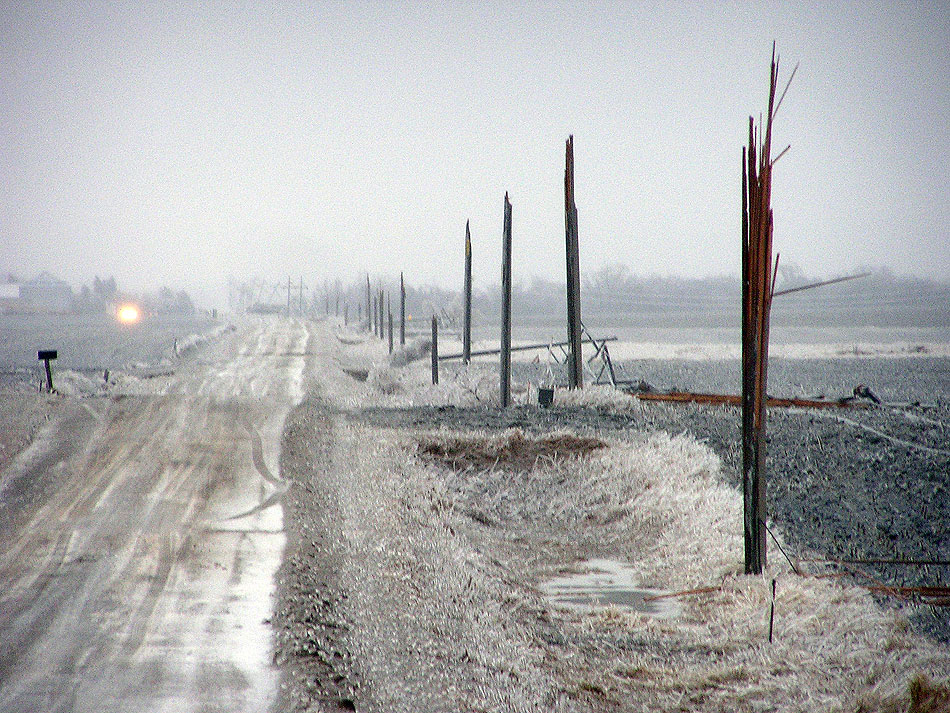 During unseasonably harsh winter storms in April, the five-person crew of Worthington Public Utilities scrambled to maintain a semblance of service to the town's 12,000 residents. Freezing rain, followed by heavy snowfall and high winds, snapped power poles like toothpicks. They ran its electric system as a de-facto microgrid.