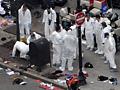 Boston crime scene