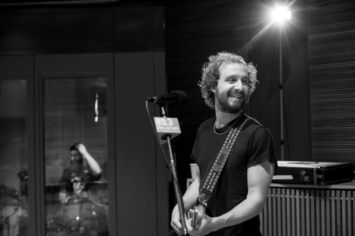 Matthew Houck, mastermind behind the indie-folk project Phosphorescent.