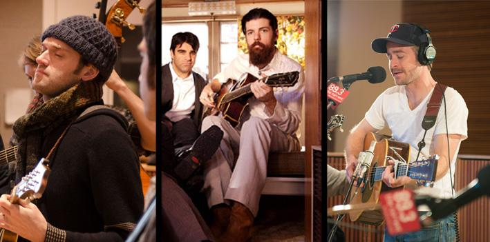 The Punch Brothers, the Avett Brothers and Trampled by Turtles