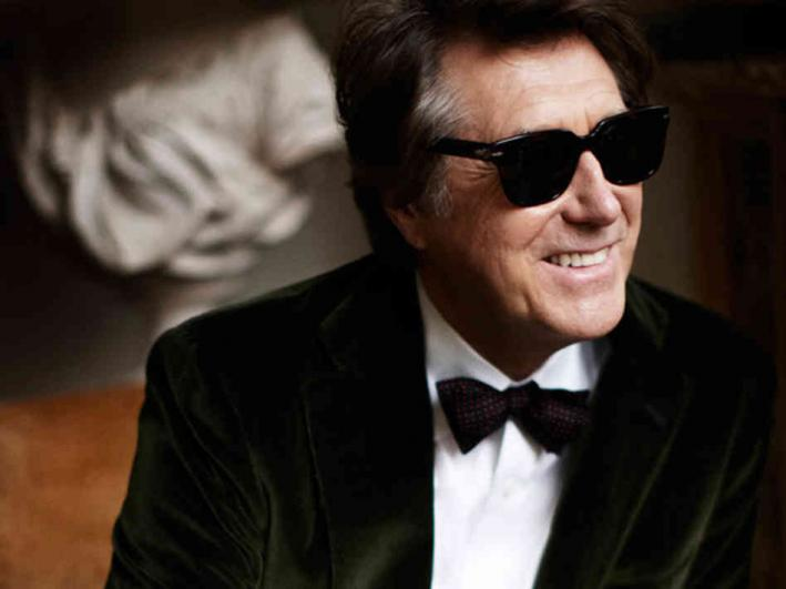 Iconic singer Bryan Ferry.