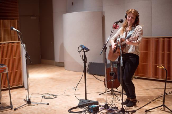 The Ericksons perform in The Current studios