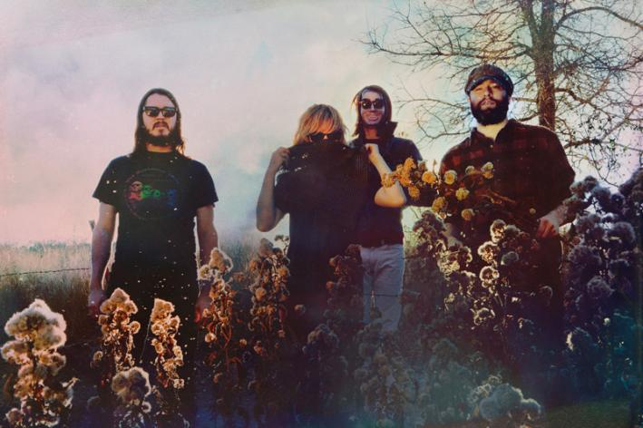 Austin psychedelic rock quartet the Black Angels.