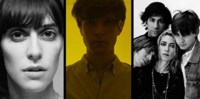 Feist, James Blake and Sonic Youth.