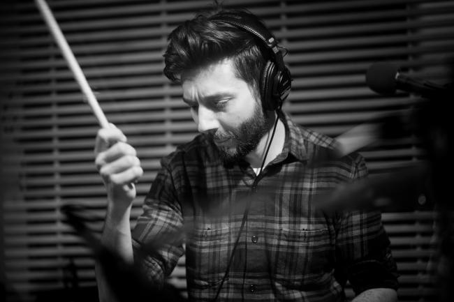 Leagues drummer Jeremy Lutito