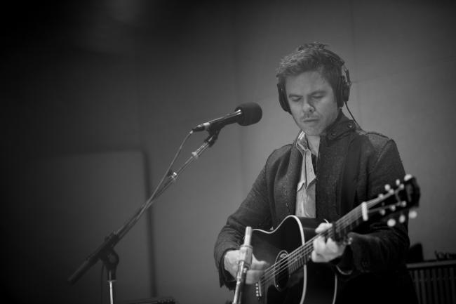 Singer-songwriter Josh Ritter in The Current studio.