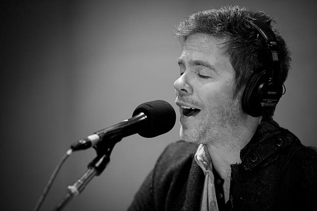 Josh Ritter performs in The Current studio.
