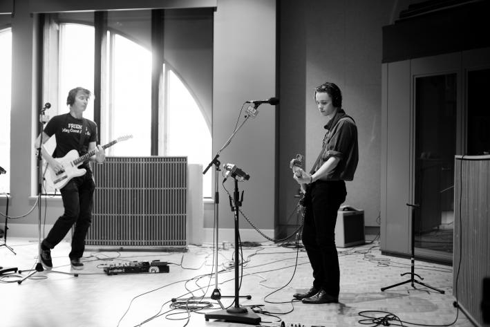 The Palma Violets perform in The Current studio.