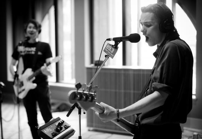 British indie quartet the Palma Violets perform in The Current studio.