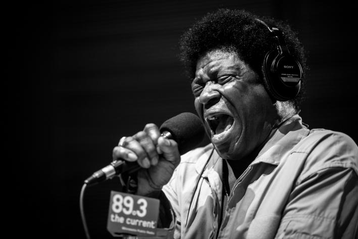 Celebrated and talented soul performer Charles Bradley.