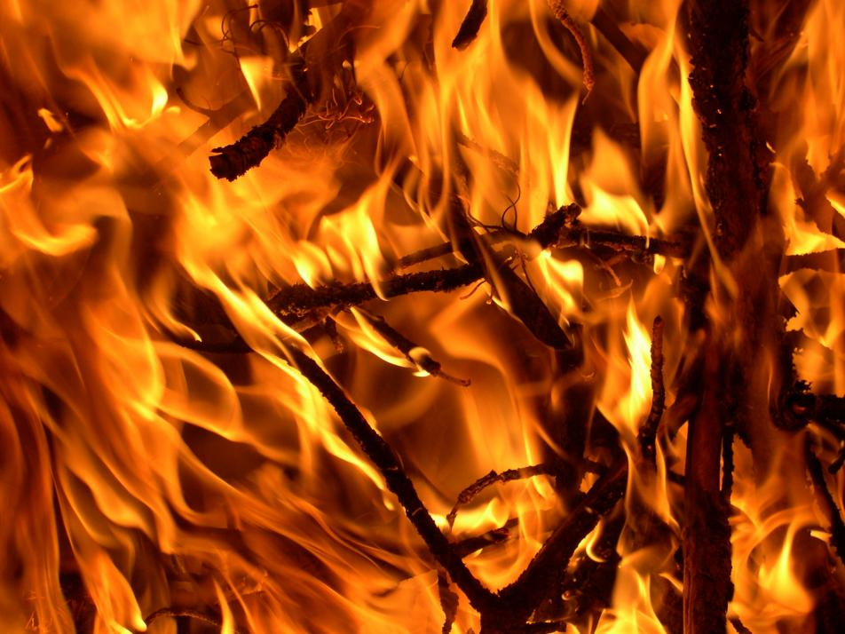 Isn't it time for a bonfire? How about a song about fire or burning for today's Coffee Break?