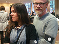 Mark Tosen and Juliet Blanca wore black armbands bearing the number 34 to the SPCO's first performance since a bitter lockout ended. The number represents the current number of musicians in the orchestra, but the number will be reduced to 28 under the contract agreed by the musicians.