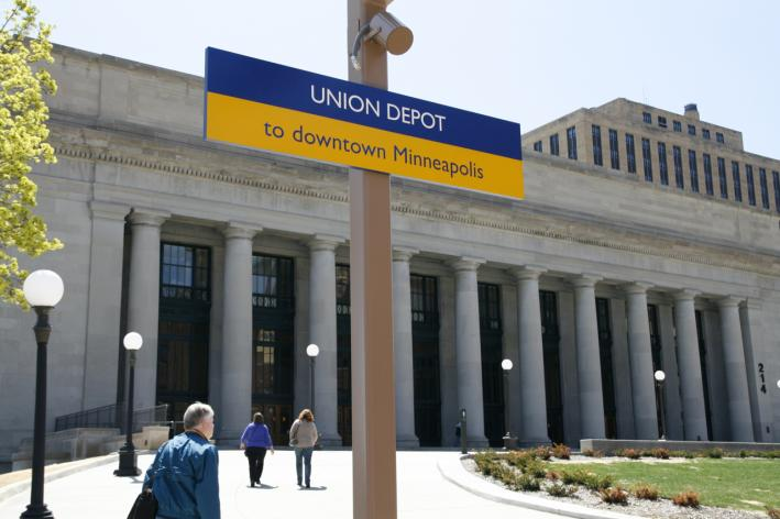 Union Depot in St. Paul, Minn., on Friday, May 10, 2013.