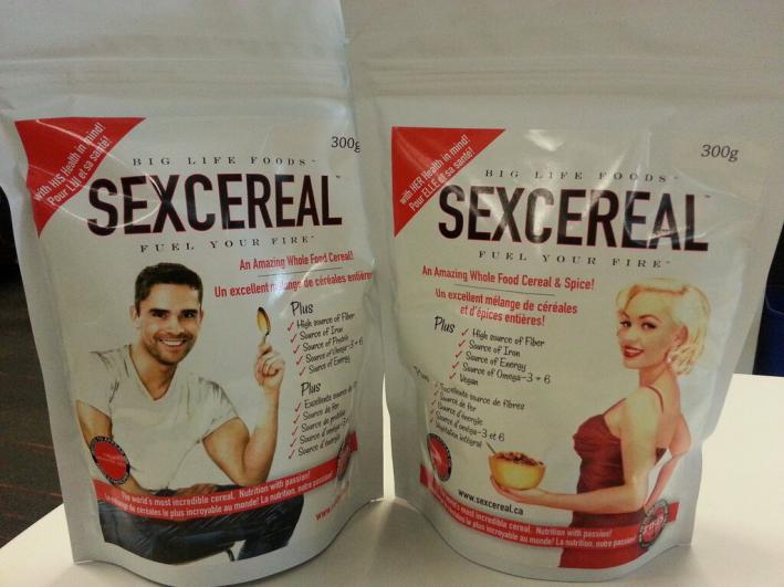 James Norton tries Sexcereal so that you don't have to.