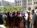 Supporters of two Somali women