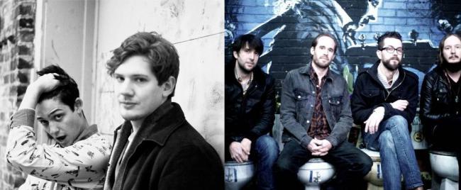 Minneapolis electro-pop duo Strange Names and Dallas rockers Dead Flowers.