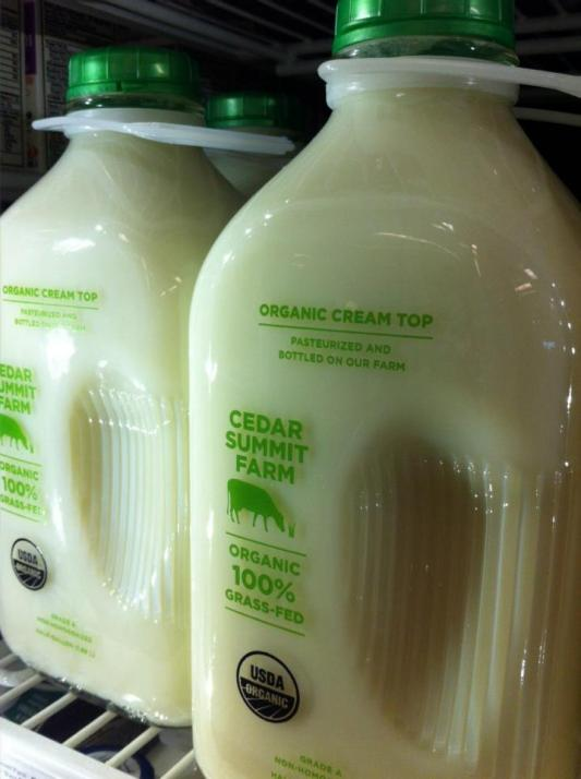 Can you taste the difference between organic, locally produced milk and commercial farm offerings?