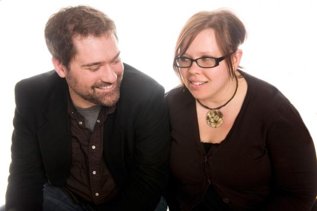 The Current's Morning Show co-hosts Steve Seel and Jill Riley