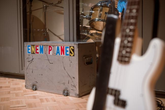 Enemy Planes performs in The Current studios