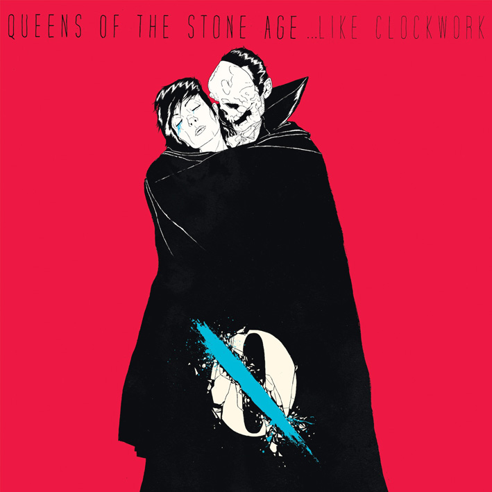 Queens of the Stone Age's sixth album is <em>...Like Clockwork</em>.