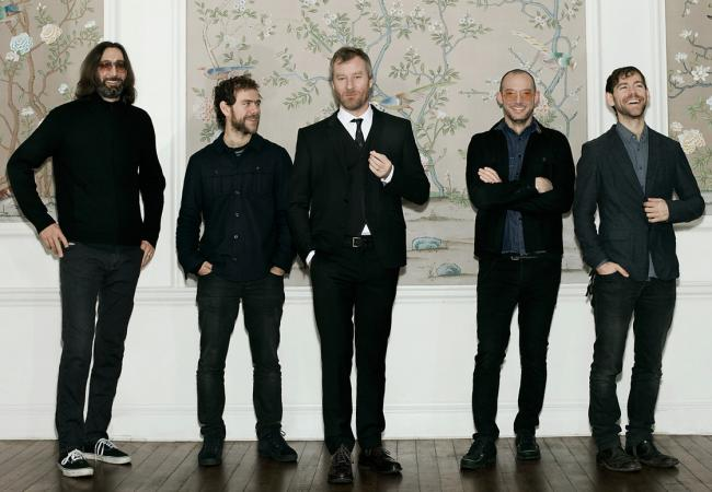 The National:  Bryan Devendorf, Bryce Dessner, Matt Berninger, Scott Devendorf, Aaron Dessner