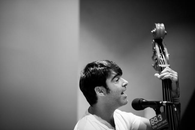 The Avett Brothers performing live in The Current studios