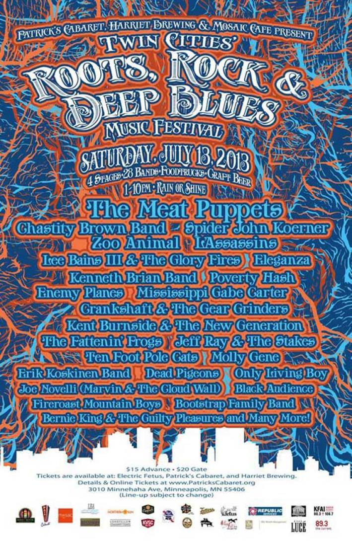 Twin Cities' Roots, Rock, & Deep Blues Festival