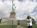 At the Statue of Liberty