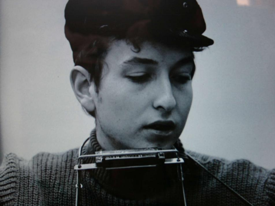 """Bob Dylan recorded """"Blowin' In the Wind"""" Today in Music History."""