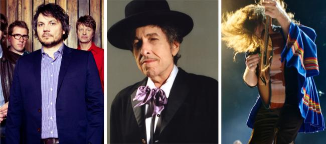 Bob Dylan, My Morning Jacket and Wilco will play St. Paul's Midway Stadium, July 10, 2013