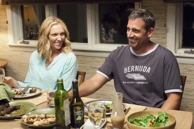 Toni Collette and Steve Carell in the new film, 'The Way Way Back'.