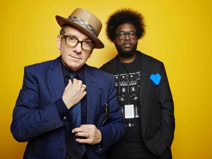 Elvis Costello and Ahmir 'Questlove' Jenkins (and The Roots) collaborated on a new album behind their label's backs; the album 'Wise Up Ghost' is due Sept. 17, 2013