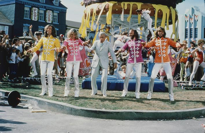 The Bee Gee's pretend to be The Beatles and it didn't go over well.