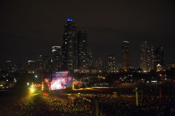 Lollapalooza August 4, 2013