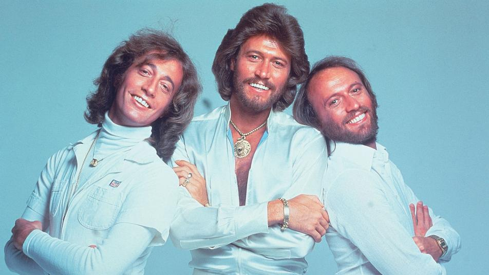The Bee Gees went to number one Today in Music History.