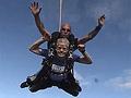 Bruce Kramer skydiving